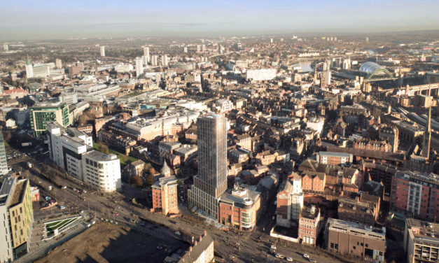 Planning application approved for landmark Newcastle – Rutherford Street development