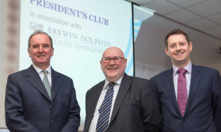 Brewin Dolphin Continue Chamber President's Club Sponsorship
