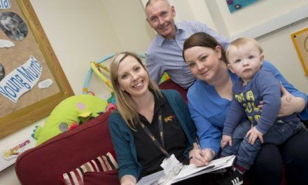 Future's bright for young mums' group