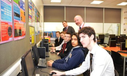 Durham Johnston Tech Students getting New Insights from Banks Group IT Team