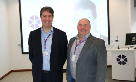Mark Bew MBE visits Newcastle-based NBS to talk 'Digital Built Britain'