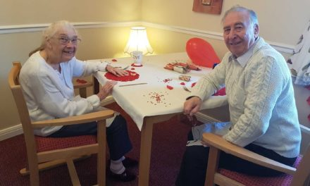 180 years of marriage celebrated at Stockton care home