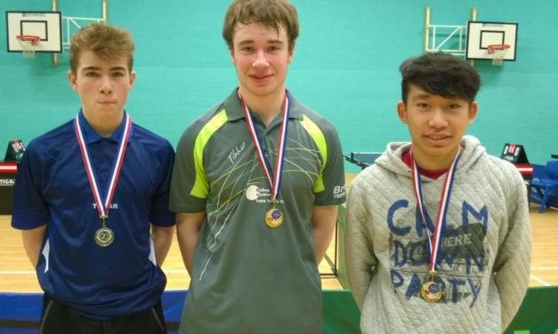Medals Galore at County School Championships for Bishop Auckland Table Tennis Club