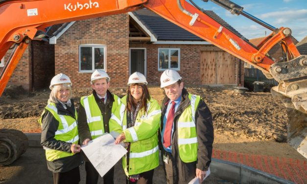 Brand new bungalows for County Durham hamlet