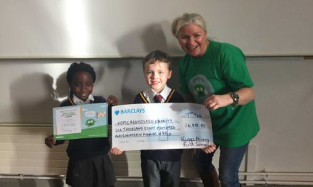 Pupils raise an incredible amount for NSPCC