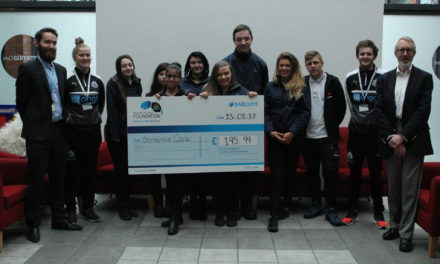 Pupils take to the road to raise money for Dementia