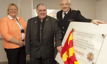 Hexham's new community fire station officially opened