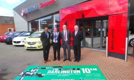 Sherwoods Vauxhall Darlington 10K launch event