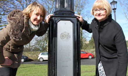 Time team unveil clock paid for with bacon sarnies