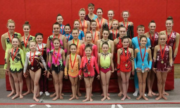 Deerness Acrobats Get 2017 off to a Flying Start