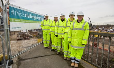 Chair of the Institution of Civil Engineers visits North Tyneside
