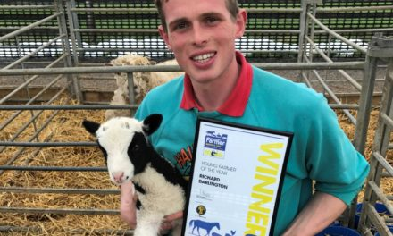 Durham's 'Hall Hill Farm' Shepherd wins Northern Young Farmer of the Year Award