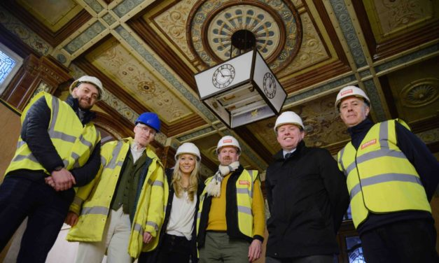 WORK GETS UNDERWAY ON GRADE II LISTED FOUR STAR HOTEL