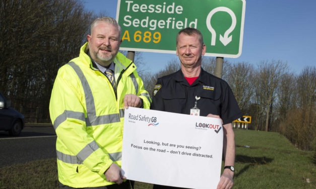 Road safety group and emergency services urge 'stay focused on the road