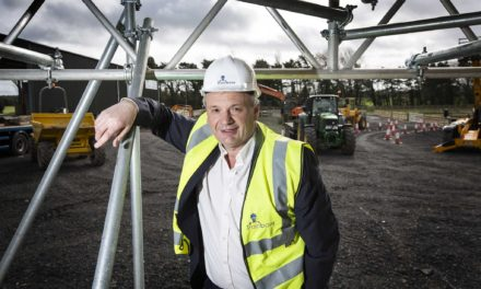 New construction training centre nears completion in Northumberland