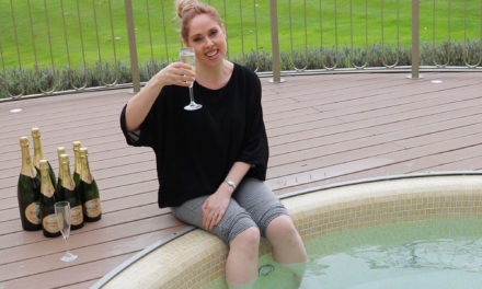 Rockliffe Spa introduces champagne hot tub treatment