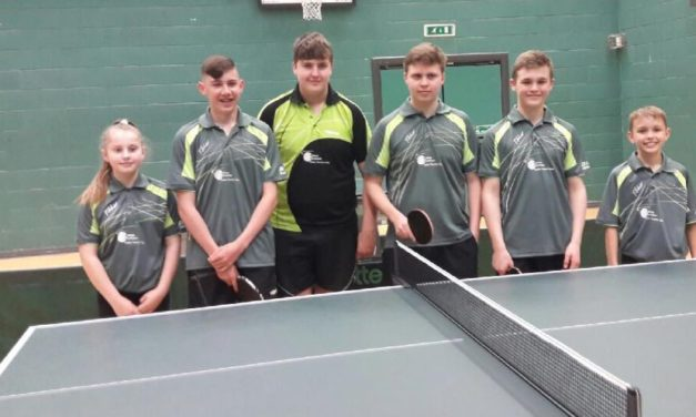 Rock Solid performances from Bishop Auckland Table Tennis players