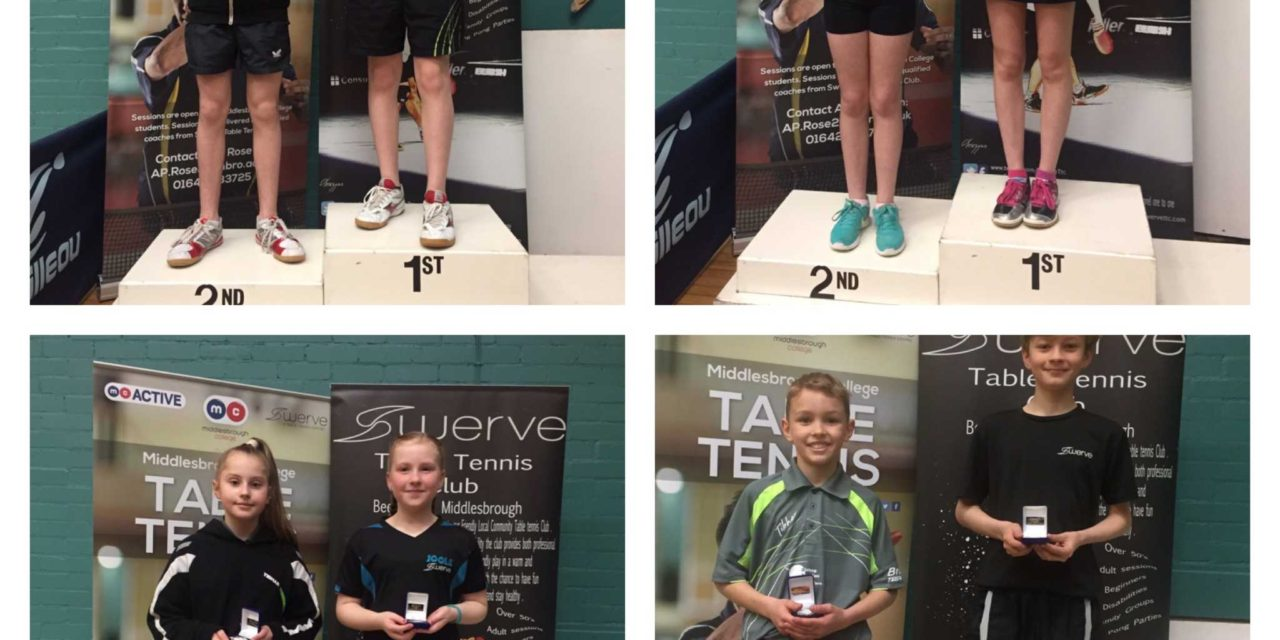 Easter Success for Table Tennis Players
