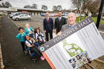 Pendower Hall developers to invest in car park for neighbouring Hadrian School