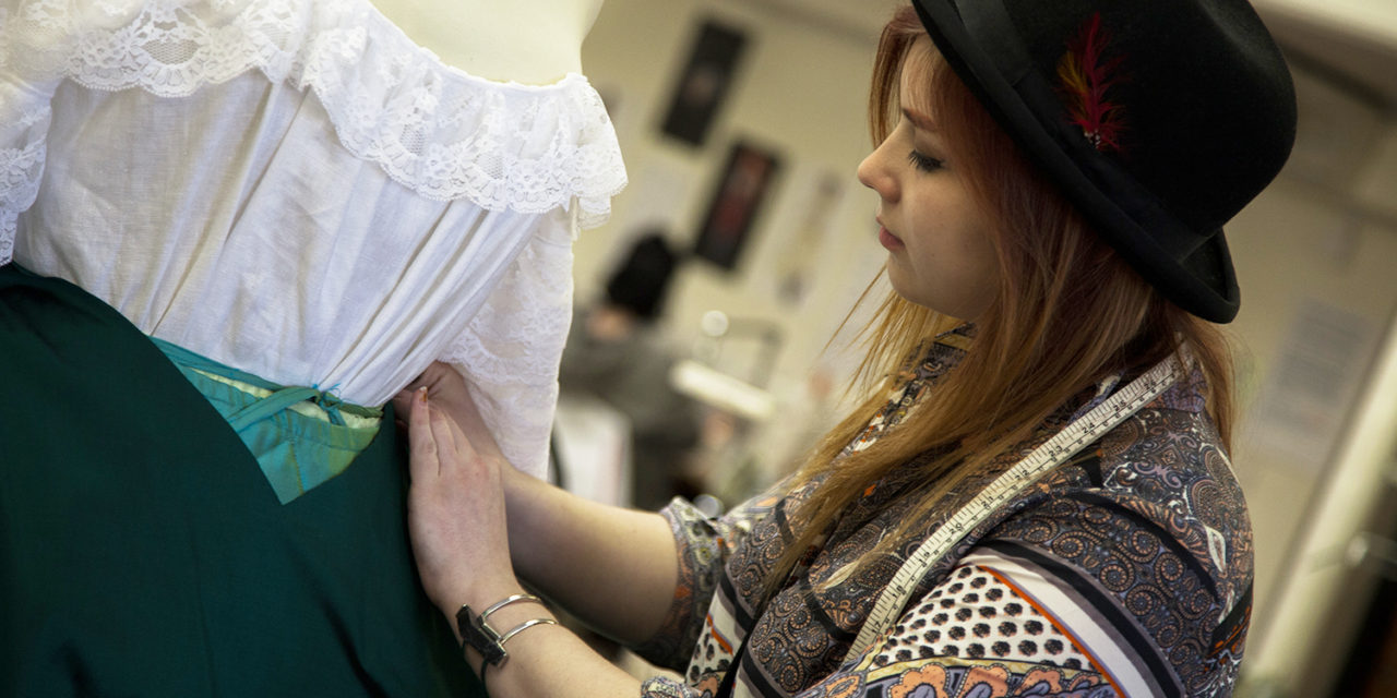 TV Show Experience is a Hit for Costume Student