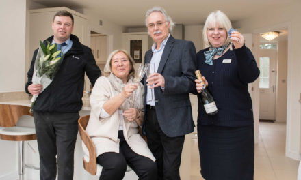 Hull couple looking for more space choose David Wilson Homes for the third time