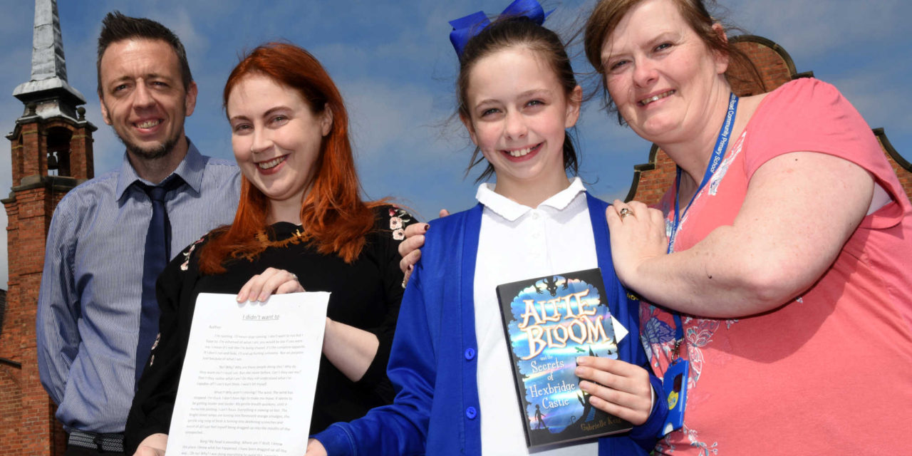 10-Year-Old Annabelle's Creative Writing Recognised by Local Author
