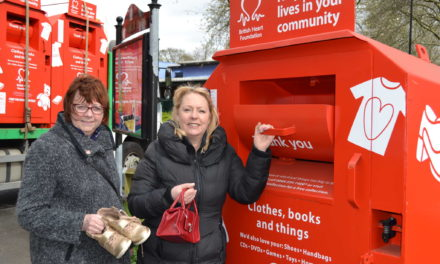 Newcastle receives nine new British Heart Foundation donation bins