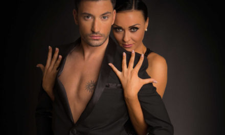 Strictly star steps out on UK tour