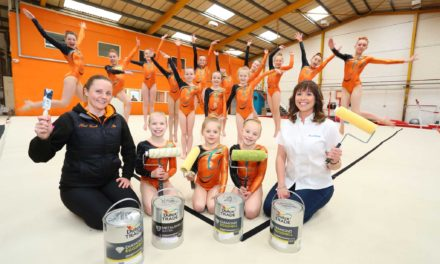 North East gymnastics group does backflips over sponsorship from AkzoNobel