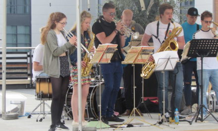 Young musicians jazz it up for festival