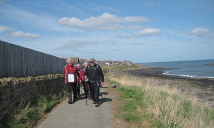 Improved path for Craster walkers