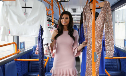 TV Star Jessica Wright Helps Celebrate the Style of Bus Passengers in the North East