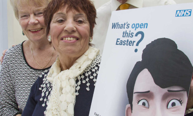 Get speedy healthcare advice this Easter