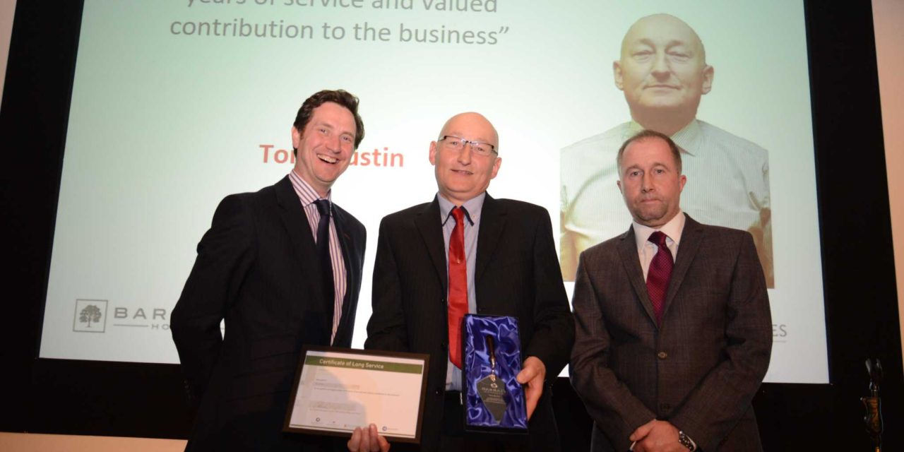 Barratt Developments North East celebrates work with local tradespeople at annual Partner Awards
