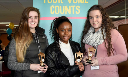 """Newcastle teens scoop national award for """"outstanding"""" charitable contribution"""