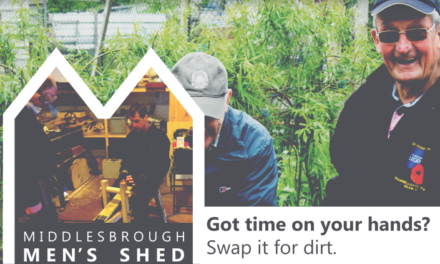 New Middlesbrough 'Men's Shed' is open for business!