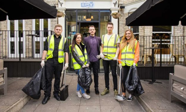 Spy Bar keeps a close Watch on Litter following the first Bank Holiday of the Year