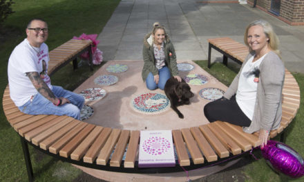 School memorial to mark fund-raising pupil's special day