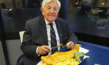 Icelandic Consul pops in for fish and chips