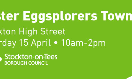 Eggsplore Stockton Town Centre this Weekend