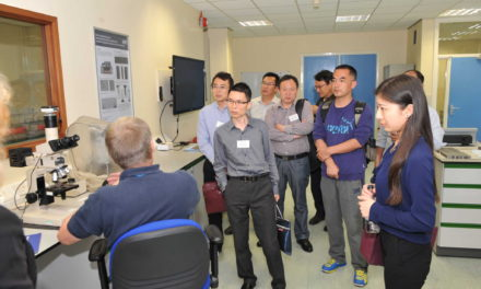 Chinese delegation visits Materials Processing Institute as part of international visit