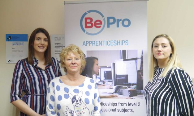 Teesside professional development business makes the grade for apprenticeships