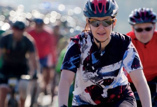Cyclists limbering up for popular series of rides
