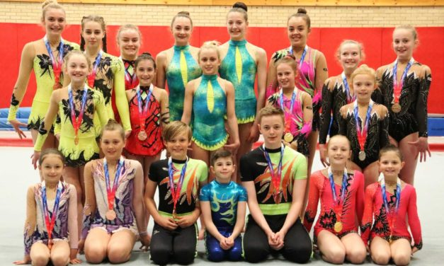 Deerness Acrobats Take Two National Titles at First Finals of 2017