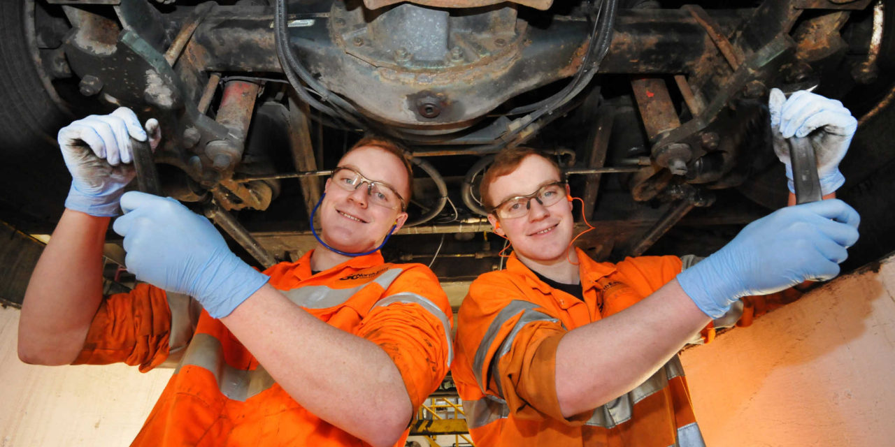 National award acclaim for Go North East and Gateshead College