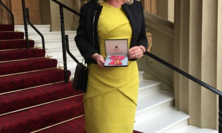 Inspirational headteacher Phil receives OBE at Buckingham Palace