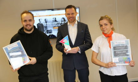 Triple recognition for workwear firm after 200% online growth