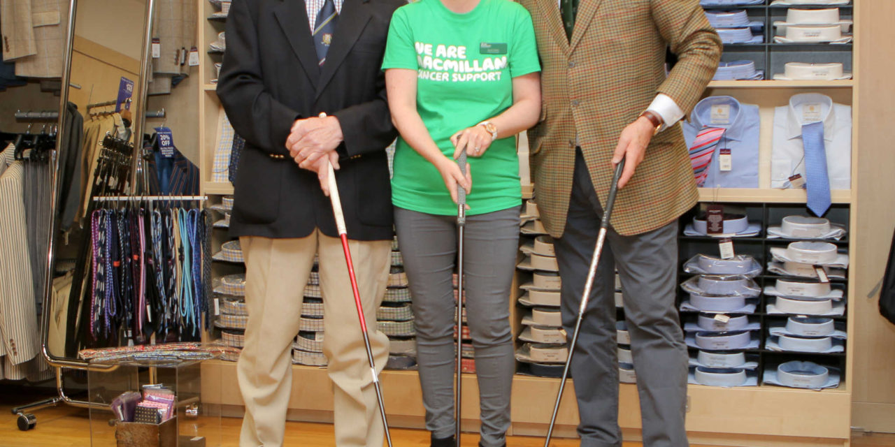 Morpeth businessmen tee up fundraising drive  to make a hole lot of money for charity