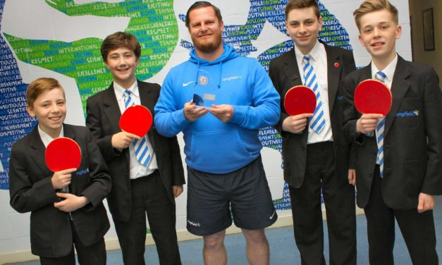 Big hitters celebrate table tennis success