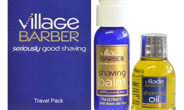 Village Barber travel packs take pain out of holiday shaving